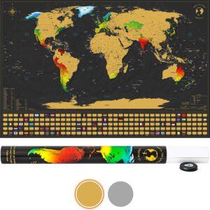 SCRATCH IT Weltkarte