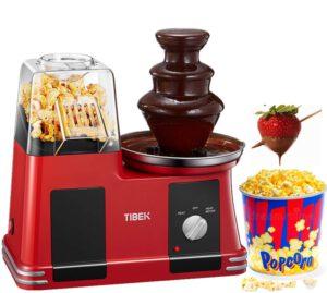 Popcornmaschine Schokobrunnen