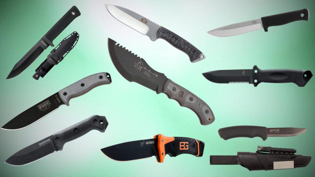 Die besten Survival und Outdoor Messer der Welt