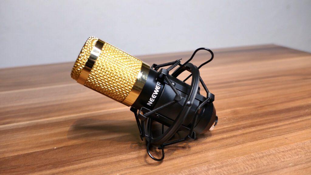 Gutes Anfänger-Mikrofon & Soundkarten-Adapter - Neewer NW-800 Pro