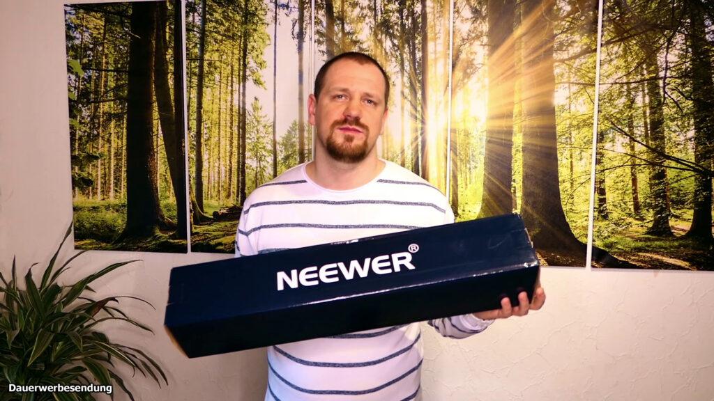 Gutes Kamerastativ bis 100€ - Das Neewer 2-in-1 DSLR Stativ