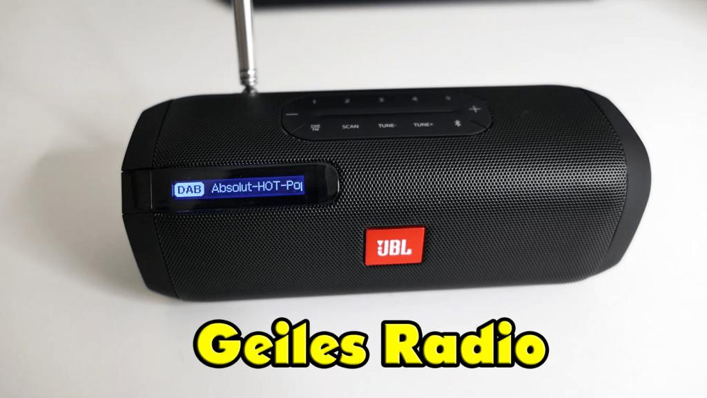 JBL Tuner - Bluetooth Lautsprecher und DAB+ Radio