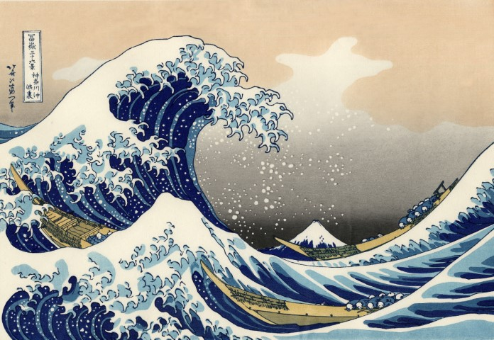 Welche sind die größten Tsunamis die auf Kamera festgehalten wurden?