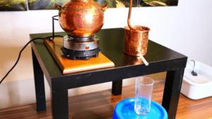 aufbau-destille