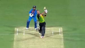 Cricket Schlag Kamera
