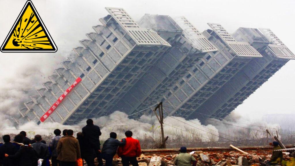 Sprengungen von Gebäuden, die schief gingen - Abriss mal anders